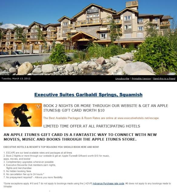 Executive Suites Garibaldi Springs Squamish Eblast