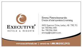 Executive new business cards executive hotels resorts jobbusiness cards advertisements reheart Choice Image