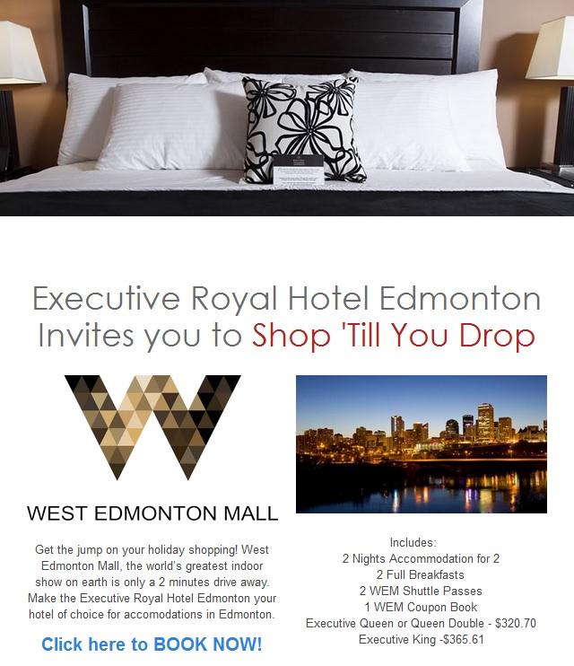 Executive Royal Hotel West Edmonton Edmonton Ab